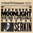 Moonlight, Pathetique & Appassionata Sonatas