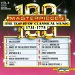100 Masterpieces: The Top 10 of Classical Music, 1731-1775, Vol. 2