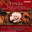 Finzi- In Years Defaced/Violin Concerto