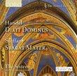 Handel: Dixit Dominus; Steffani: Stabat Mater