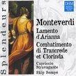 Monteverdi: Lamento d'Arianna, Combatimento di Trancrede et Clorinda [Germany]