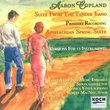 Tenderland Suite / Appalachian Spring (Chamber)
