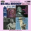 4 Classic Albums Plus- Big Bill's Blues/Sings The Blues/Folk Blues/Blues
