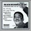 Black Religious Music: 1930-56