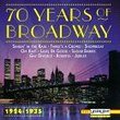 70 Years of Broadway, Vol. 1: 1924-1935