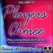 Vol. 91, Players' Choice (Book & CD Set)