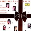 Christmas à la carte / Bartoli, Domingo, Mutter, Pavarotti, Schäfer, Terfel