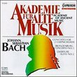 Bach: Orchestral Works / Academy Of Ancient Music