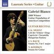 Laureate Guitar Series: Gabriel Bianco
