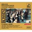Rossini - Il viaggio a Reims / Studer, Valentini-Terrani, Serra, McNair, Matteuzzi, R. Giménez, Gallo, Raimondi, Ramey, Dara; Abbado