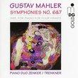 Mahler - Symphonies 6 & 7 (Piano duo version)