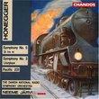 Honegger: Symphony No. 5; Symphony No. 3; Pacific 231
