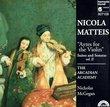Matteis: 'Ayres for the Violin', Suites & Sonatas, Vol. II / McGegan