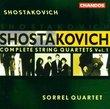 Shostakovich: Complete String Quartets Vol. 1