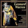 Leonard Warren Recital - (recorded 1941-47)