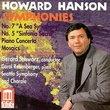 Howard Hanson: Symphonies Nos. 5 & 7; Piano Concerto; Mosaics