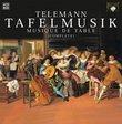 Telemann:Tafelmusik (Complete) [Box Set]
