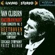 """Rachmaninoff: Piano Concerto No.2; Beethoven: Piano Concerto No.5 """"Emperor"""""""