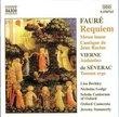 Fauré: Requiem; Messe basse; Cantique de Jean Racine