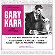 Gary Karr: Bass Virtuoso (CD + HDAD set)