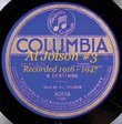 Al Jolson #3 Recorded 1916 - 1947