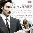 Elgar; Schnittke: Viola Concertos featuring David Aaron Carpenter; Philharmonia Orchestra and Christoph Eschenbach