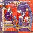 Machaut: Le Jugement Du Roi De Navarre / Vellard, Ensemble Gilles Binchois, et al