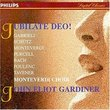Jubilate Deo!: Gabrieli / Schütz / Monteverdi / Purcell / Bach / Poulenc / Tavener