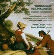 """Hungarian"" Violin Sonatas [Hybrid SACD]"