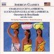 Charles Lucien Lambert Sr, Lucien-Léon Guillaume Lambert Jr: Ouverture de Brodéliande and other works