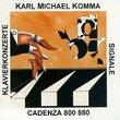 Komma: Klavierkonzerte; Signale (Concerti for Piano & Orchestra 1 & 2; Signale)