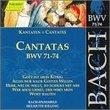 Bach: Cantatas, BWV 71-74