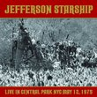 Jefferson Starship: Live in Central Park NYC May 12,1975 (2 CD Set)