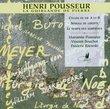 Henri Pousseur: La Guirlande de Pierre