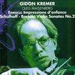 Enescu: Impressions Denfance / Schulhoff: Vln Son