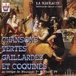 Chansons Vertes, Gaillardes, & Coquines