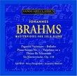 Brahms: Masterpieces for Solo Piano
