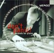 Don't Panic! 60 Seconds for Piano
