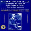 Conducts Elgar