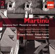 MARTINU: Symphony No.4, Memorial to Lidice, Concertos