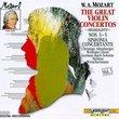 Mozart: The Great Violin Concertos 5