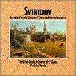 Sviridov: Sacred & Secular Choruses