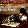 French Horn/Arvids Klisans: L. Mozart, W.A. Mozart, Weber, et al.