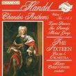 Handel: Chandos Anthems, Vol. 1, Nos. 1, 2 & 3