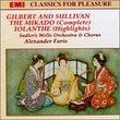Sullivan: The Mikado/Iolanthe