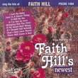 Sing The Hits Of Faith Hill's Newest (Karaoke)