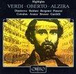 Verdi: Highlights from Oberto & Alzira