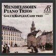 Mendelssohn: Trio No. 1 in D Minor, Trio No. 2 in C Minor