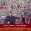 Bach: Complete Sonatas for Violin and Obbligato Harpsichord / Pinnock, Podger