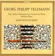 Telemann: Twelve Fantasias for Transverse Flute